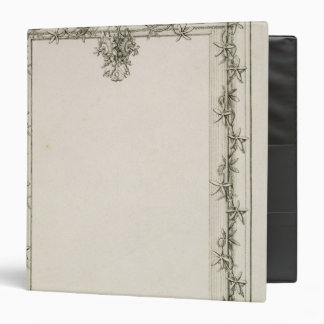 Decorative border, 1809 binders