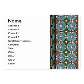 Decorative Border Design ( Owen Jones ) Large Business Card