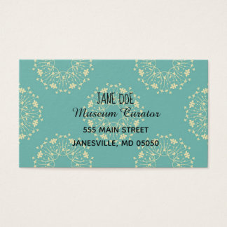 Decorative business cards
