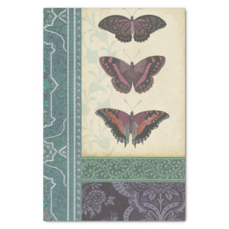Decorative Butterfly Brocade by Vision Studio Tissue Paper