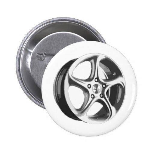 Decorative Car Rim Buttons