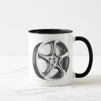 Decorative Car Rim Mug