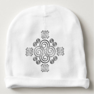 Decorative Celtic design. Baby Beanie