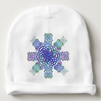 Decorative Celtic design. Baby Beanie