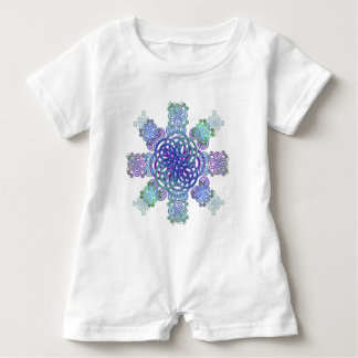 Decorative Celtic design. Baby Romper