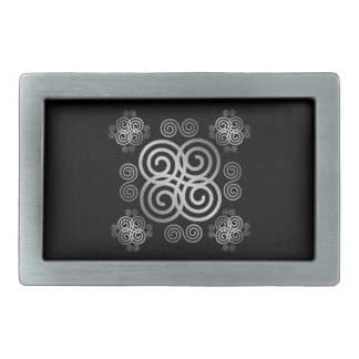 Decorative Celtic design. Belt Buckle