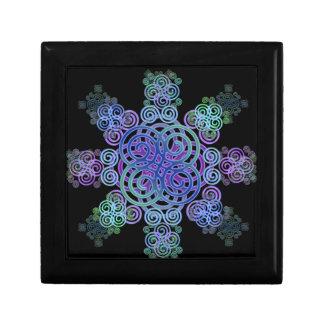 Decorative Celtic design. Gift Box