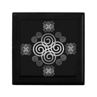 Decorative Celtic design. Gift Box