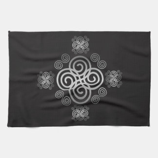Decorative Celtic design. Kitchen Towel