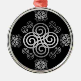 Decorative Celtic design. Metal Ornament