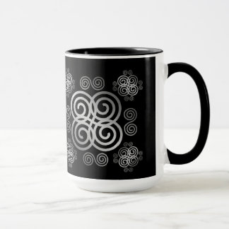 Decorative Celtic design. Mug