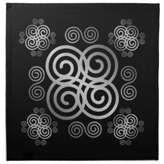 Decorative Celtic design. Napkin