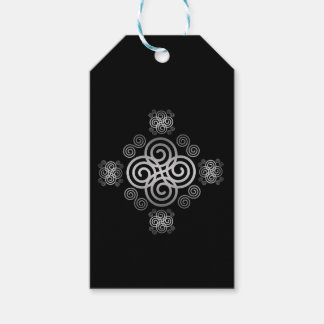 Decorative Celtic design. Pack Of Gift Tags