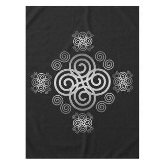 Decorative Celtic design. Tablecloth