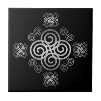 Decorative Celtic design. Tile