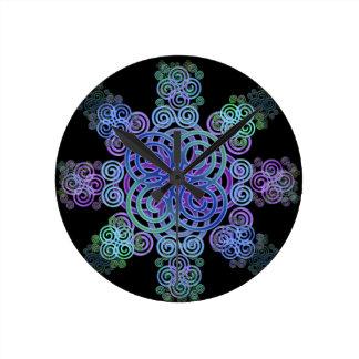 Decorative Celtic design. Wallclock