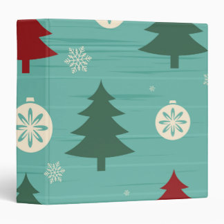 Decorative Christmas Trees and Christmas Ornaments Binder