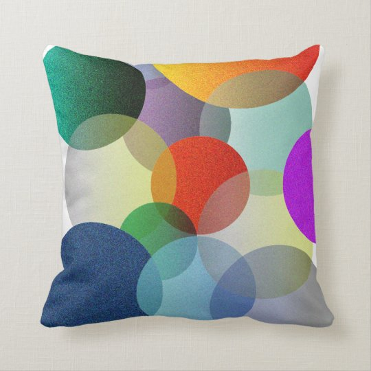 Decorative Circles Pillow
