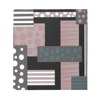 Decorative collage notepad