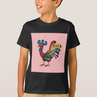Decorative colored rooster T-Shirt