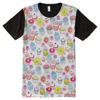 Decorative Colorful Fun Cupcakes Pattern