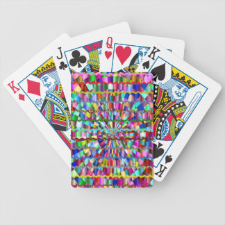 Decorative Colors Bicycle Playing Cards