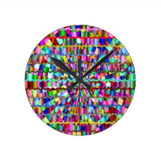 Decorative Colors Round Clock