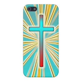 Decorative Cross  Cover For iPhone 5/5S