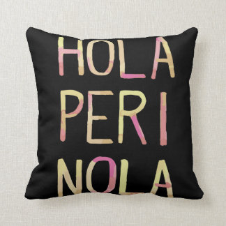 Decorative cushion Hello Perinola Venezuela