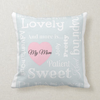 Decorative cushion Mother's Day