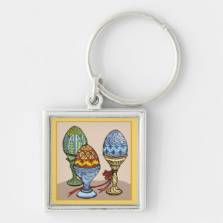 Decorative Eggs  Keychain