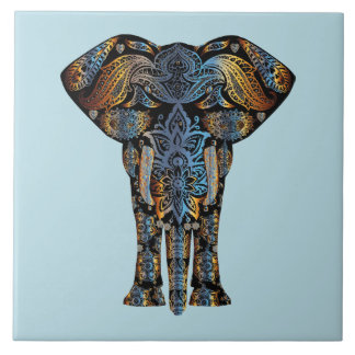 Decorative Elephant Design Tiles