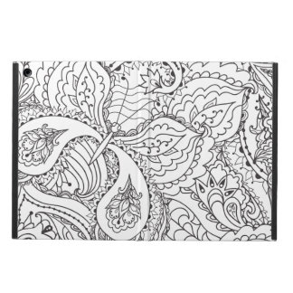 Decorative Floral Butterfly - multiple colors avai iPad Air Cover