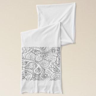 Decorative Floral Butterfly - multiple colors avai Scarf