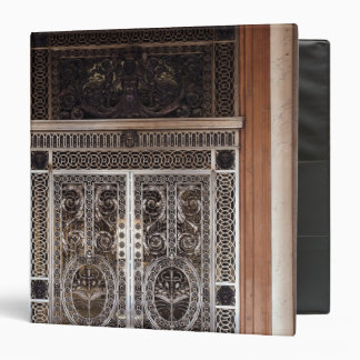Decorative gates of Galerie d'Apollon in 3 Ring Binder