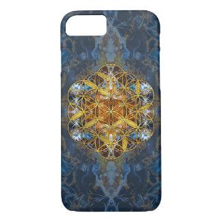 Decorative Gemstone Sacred Geometry Flower of life Case-Mate iPhone Case
