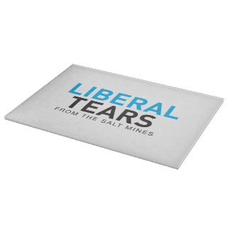 Decorative Glass Cutting Board Liberal Tears