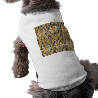 DECORATIVE GOLDEN BROWN BACKGROUNDS WALLPAPERS TEM PET TSHIRT