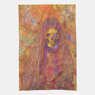 Decorative Gothic Skeleton Kitchen Towel