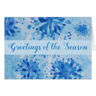 Decorative Greetings of the Season Card
