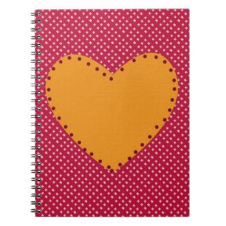 Decorative Heart Notebook