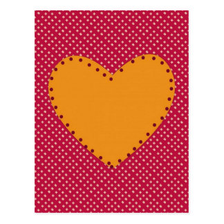 Decorative Heart Postcard