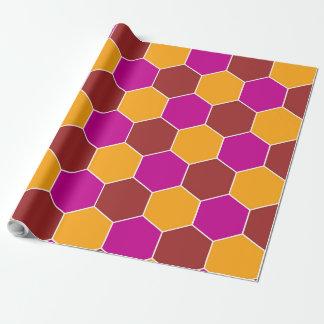 Decorative Hexagons Mosaic Pattern #2