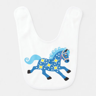 decorative horse baby bibs
