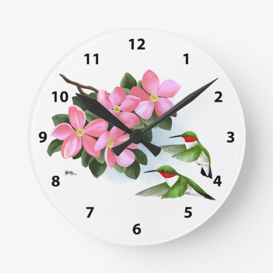 Decorative Hummingbird Clocks