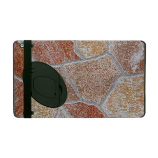 Decorative Irregular Colorful Stones Texture iPad Case