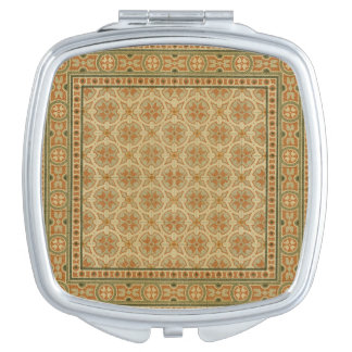 Decorative Italian Mosaic Tiles by Vision Studio Makeup Mirror