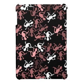 Decorative lizards pattern iPad mini cover