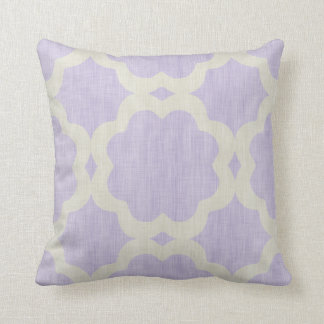 Decorative Moroccan Lilac Cushion