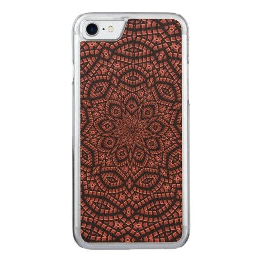 Decorative mosaic art carved iPhone 7 case